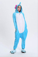 BYDWYAG Pajamas Monkey Pajamas Animal Cartoon Female Adult Cartoon Costume Carnival Gray Long-tailed Lemur Overall M Elephant