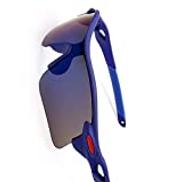 Other Parkour men and women Sunglasses for Cycling outdoor sports Sunglasses - Blue frame
