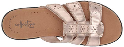 Recuperar si pedir disculpas  Clarks Women's Leisa Spring Sandal, Rose Gold Leather, 80 W US price in  Dubai, UAE | Compare Prices