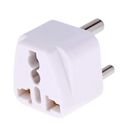 DSFMXSD Power Adapter Adapter Portable Universal Socket To Small South Africa Plug Power Adapter Travel Charger Black Color : White