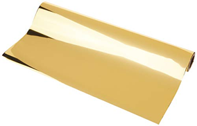 iCraft Deco Foil Value Roll, 12.5 inches x 25 feet, Gold