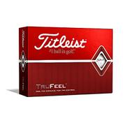 Titleist TruFeel Golf Balls - White