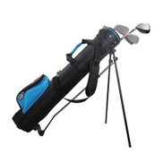 GAOERF Golf Stand Bag, Lightweight Easy Carry Travel Shoulder Bag Organizer with Large Capacity of 9 Golf Clubs for Women Men