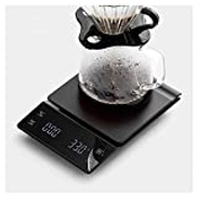 XIAOXIAO High Precision Electronic Balance Handshake Coffee Digital Kitchen Scales Multifunction Bar Counter Electronic Scale Tape Timer 3 Kg 1 G Kitchen Scales
