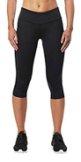 2XU Women's Mid-Rise Compression 3 4 Tights Large Black Dotted Logo