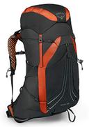 Osprey Exos 48 Men's Lightweight Hiking Pack - Blaze Black MD