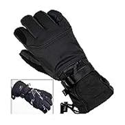 Hjd Gloves Ski Gloves Fleece Snowboard Gloves Snowmobile Motorcycle Riding Winter Gloves Windproof Waterproof Unisex Snow Gloves Winter gloves Size : M