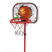 XZYB-lqj Q1892 Kids Basketball Set, Safe Adjustable Hoop Net System, Portable Basketball Stand Base for Toddler Children Juniors Indoor Outdoor Play Sports Basketball stand