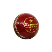 DAWSON SPORTS Unisex Adult 5200 Shield Match Cricket Ball 5200 - Red, Small