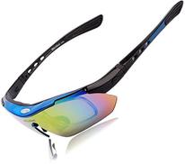 WOLFBIKE UV400 Men Women Coating Polarized Sunglasses Safety Eyewear Goggle for Riding