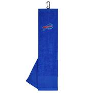 Team Effort NFL Face Club Tri-Fold Embroidered Towel