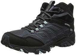 Merrell Women's Moab Fst Ice+ Thermo Snow Boots, Black Black Black, 7 40.5 EU