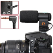 KGDFVDS Microphone Sunzimeng Mic-109 Directional Stereo Microphone with 90 120 Degrees Pickup Switching Mode for DSLR & DV CamcorderBlack
