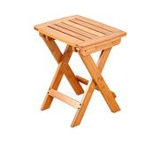 QJJML Folding Table Garden, Portable Wooden Balcony Study Desk Garden Picnic Table, No Need To Install,G