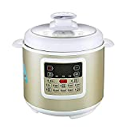 Electric Pressure Cooker Double Non Stick Pan Inner Voltage Electric Cooker Intelligent Pressure Control Manual Pressure Upper Cover Anti Scalding Suitable Kitchen