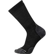 Smartwool PhD Outdoor Light Crew Walking Socks Large Charcoal
