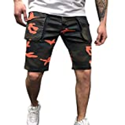 Starryflashingmen Pants Men Camouflage Printed Shorts Sports, Male New Style Cotton Multi-Pocket Overalls Shorts Fashion Pants