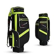 DIMPLEYA Men's Golf Sports Standard Bag Package Embroidery Stretching Package Air Shipment Large Capacity Bag Nylon Waterproof