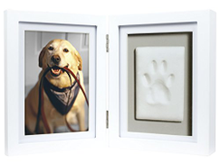 Pearhead 83016 Photo Frame with Pet Pawprint Imprint Kit
