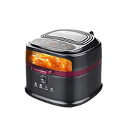 NILINMA Full automatic high capacityair Fryer Watt Electric Hot air Fryers Extra Large Oven Nonstick Cooker for Healthy Low Fat,Size 30cm 36cm 28cm