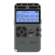 Voice Recorder Greatwelly 8 GB Digital Audio Sound Recorder,Voice Activated Recorder for Lectures,Dictaphone with USB,MP3 Player