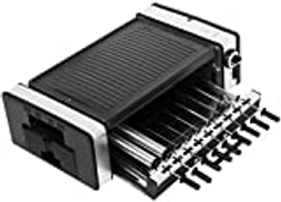 YUIOLIL Electric Oven Portable Small Baking Pan Household Electric Grill Skewers Barbecue Machine BBQ