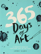 Hardie Grant Books UK 365 Days Of Art: A Creative Exercise For Every Day The Year
