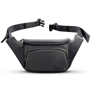 FREETOO Fashion Fanny Packs Waist Bag for Women Girls Kids, Fanny Pack Lightweight for Travel Shopping Leisure Time Large gray