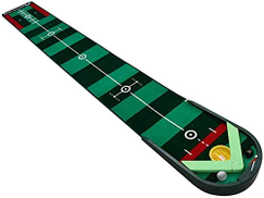 MNJKL Golf Putting Mats for Home Use, Training Equipment Synthetic Fake Grass Mat-Golf Training Mat for Enthusiasts and Beginners,Green