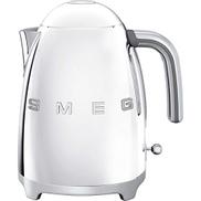 غلاية SMEG Chrome ، طراز 50's Retro ، Aesthetic KLF03SSUK