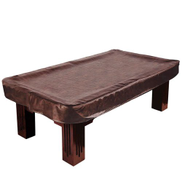 Felson Billiard Supplies 2.4m Brown Heavy Leatherette Billiard Table Cover by by