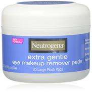 Neutrogena Eye Extra Gentle Makeup Remover Pads 30 Count Jar 6 Pack