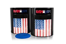 Kan Jam Original Disc Throwing Game - Great for Outdoors, Beach, Backyard and Tailgate