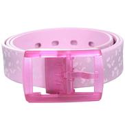 Tie-Ups Pink Plastic Belt For Women