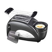 ROO Toaster, Toaster with Egg Boiler and Poachers, 2 Slice Toaster with Mini Frying Pan, Steamer, Wide Slot