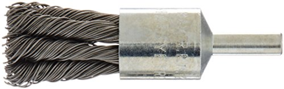 Firepower 1423-2105 Knot Type Crimped Wire End Brush with 3 4-Inch Diameter and 1 4-Inch Shank