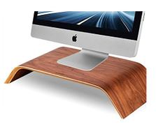 China Samdi Wooden Monitor Stand, Riser Shelf Stand for all iMac and other Computers LCD Monitors. See eye-to-eye with your Monitors