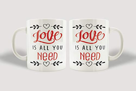Twinkle Hands All You Need Is Love Apron