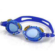 WWY Goggles For Children Anti Fog Swimming Glasses Kids Diving surfing goggles Boy Girl Optical Reduce Glare Eye wear Color : Blue B