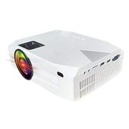 GXX Lin BLJ-333 1920x1080 2000 Lumens LCD Portable Home Theater Mini Projector, Support HDMI SD USB AV VGA Black Color : White