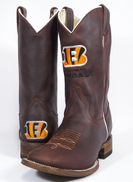 Old Pro Leathers NFL mens Cowboy Boots 8 brown