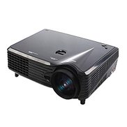 JHM-AE JHMJHM Home Theater Systems VS-508 Mini Projector 2000ANSI LM LED 800x480 VGA Multimedia Video Projector, Support VGA HDMI USB TV Interfaces, Projecting Distance: 1-5mBlack Video Projector