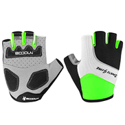 Glovejia CS-ST Cycling Glove Summer 3D Resistance Ventilation Breathable Quick Dry Non-Slip with 4 Colors Unisex Color : Green, Size : XL sports gloves men Color : Red, Size : X-Large
