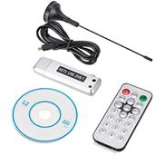 DGHJRS TV stick receiver Sunzimeng Car TV Receiver DVBT Digital TV Receiver HDMI USB DVBT With Remote Control Silver Color : Silver