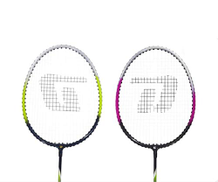 CXBH Badminton racket, suitable for outdoor sports and fitness rackets, a pair of badminton racket suits, pink and turquoise Color : Red green, Size : 67.6 cm