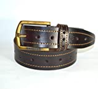 WoodLand Cocoa Brown Leather Belt For Men