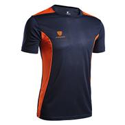 Generic Men's T-shirt, outdoor clothing, elastic sportswear, men's sports, quick-running, running, men's Navy,XL