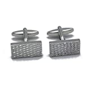 Jialan Jewelry Unique Square Cufflinks for Men French Shirts Tuxedo Mens Set Cuff Links Party Wedding Business Gift for Dad Friends Loved One