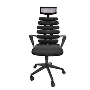 HIZLJJ High Back Mesh Ergonomic Office Chair Adjustable Headrest Mesh Office Chair Office Desk Chair Computer Task Chair