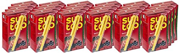 SUNTOP Berry Mix Juice, 24 x 250 ml